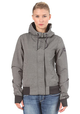 BENCH Womens Sweetie Jacket charcoal
