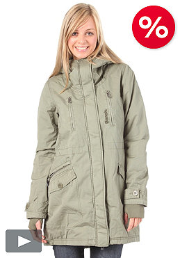 BENCH Womens TarParkJacket deep lichen green