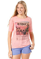BENCH Womens Thardor S/S T-Shirt georgia peach