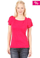 BENCH Womens Then Again S/S T-Shirt rose red