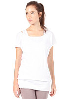 BENCH Womens Thenagain S/S T-Shirt bright white