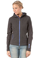 BENCH Womens Theo Jacket dark grey marl