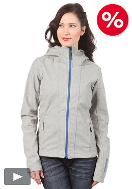 BENCH Womens Theo Jacket medium grey marl