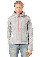 BENCH Womens Theo Jacket mid grey marl