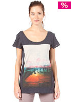 BENCH Womens Timerama S/S T-Shirt total eclipse