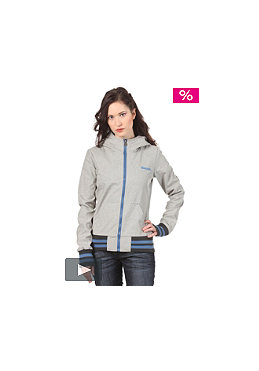 BENCH Womens Trinity Jacket medium grey marl