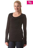BENCH Womens Twisterley Longsleeve jet black