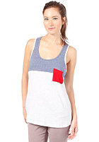 BENCH Womens Unballoo S/S T-Shirt blue depths