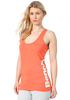 BENCH Womens Volley Vest Tank Top fiery coral