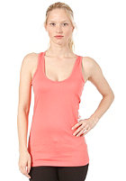 BENCH Womens Volley Vest Tank Top georgia peach