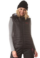 BENCH Womens Warm As Pie Vest jet black