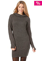 BENCH Womens Wishingwell Dress dark grey marl