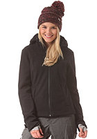 BENCH Womens Yule Hooded Zip Sweat jet black