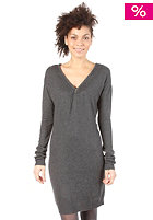 BENCH Womens Zippy V Dress dark grey marl