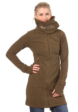 BENCH Zip Trough Funnel Neck Fleece beech BLE 418B