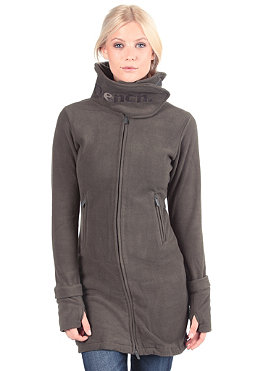 BENCH Zip Trough Funnel Neck Fleece black ink BLE 418B