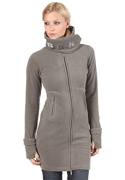 BENCH Zip Trough Funnel Neck Fleece smoked pearl BLE 418B
