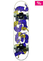 �BER Complete Deck Laces SPGL (MC) 7.75 purple-yellow