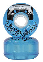 �BER Cruiser Wheels Fahrvergn�gen 57mm blue transparent