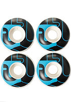 �BER Wheels 52mm black/neon blue
