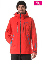 BERGANS Trolltind Snowboard Jacket bright red/dark maroon/light sea blue