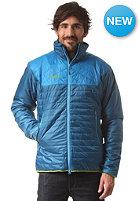 BERGANS Uranustind Insulated Snow Jacket deep sea/ light sea blue/ bright sea blue