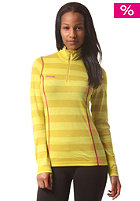 BERGANS Womens Akeleie Half yellowgreen/lemon striped