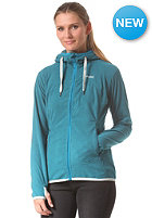 BERGANS Womens Cecilie Fleece Jacket deep water winter mist