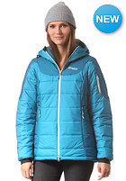 BERGANS Womens Cecilie Insulated Snow Jacket shallow water/ deep water