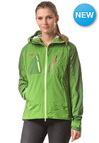 BERGANS Womens Cecilie Jacket forest green/deepforest/ bubblegum