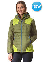 BERGANS Womens Nibbi Insulated Jacket green tea/ lime/ deep sea