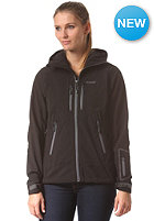 BERGANS Womens Stranda Softshell Jacket black/ grey