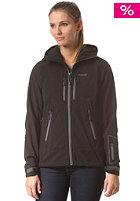 BERGANS Womens Stranda Softshell Jacket black/ grey