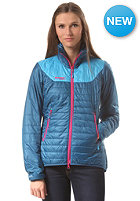 BERGANS Womens Uranustind Insulated Jacket deep swea/ bright sea blue/ hot pink