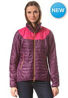 BERGANS Womens Uranustind Insulated Jacket plum hot pink dark musterad