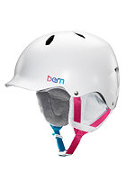 BERN Kids Bandita EPS w/ Cordova Liner Helmet satin white