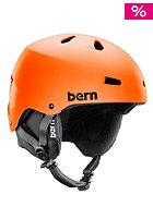 BERN Macon EPS w/ Cordova Liner Helmet matte orange