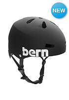 BERN Macon Helmet matte black distressed logo