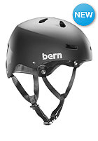 BERN Team Macon w/ EPS Foam Helmet matte black crown graphic