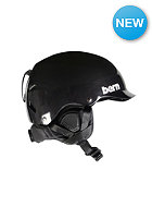BERN Watts Carbon Fiber w/ Waxed Canvas Liner Helmet gel coat black
