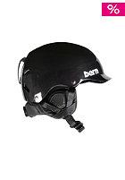 BERN Watts Carbon Fiber w/ Waxed Canvas Liner Helmet gel coat black