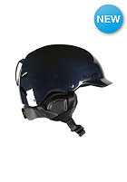 BERN Watts Carbon Fiber w/ Waxed Canvas Liner Helmet gel coat navy