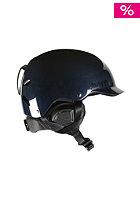 BERN Watts Carbon Fiber w/ Waxed Canvas Liner Helmet gel coat navy