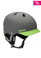 BERN Watts EPS w/ Black Knit neon green