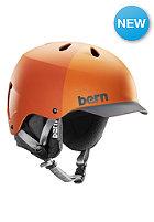 BERN Watts EPS w/ Cordova Liner Helmet matte orange hatstyle