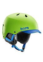 BERN Watts EPS w/ Cordova Liner Helmet neon green brimstyle