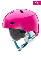 BERN Womens Brighton EPS w/ Cordova Liner Helmet satin magenta