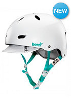 Womens Brighton Helmet satin white
