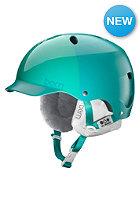BERN Womens Lenox EPS w/ Cordova Liner Helmet satin emerald hatstyle