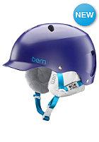 BERN Womens Lenox EPS w/ Cordova Liner Helmet satin midnight